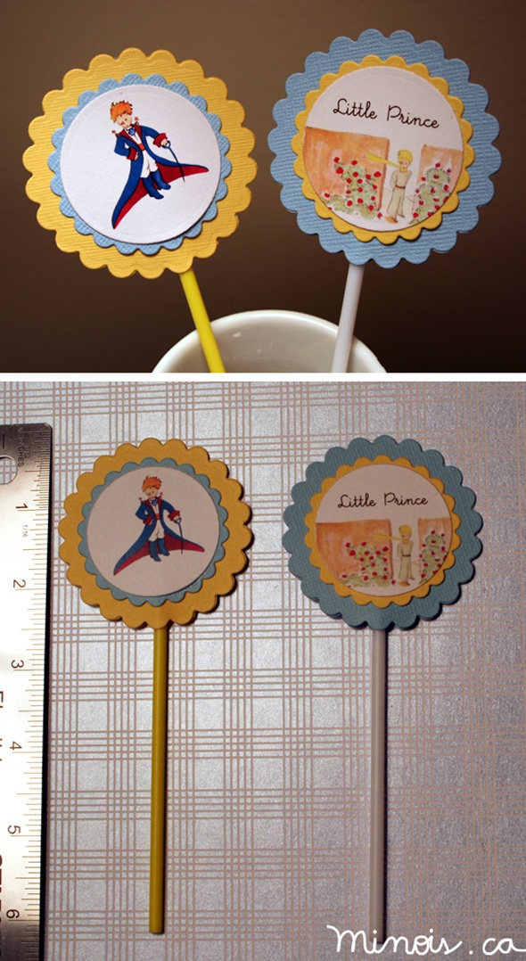 """Little Prince birthday party """"Le Petit Prince"""" « Minois"""