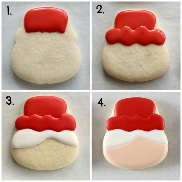 How to Make Mrs. Claus Face