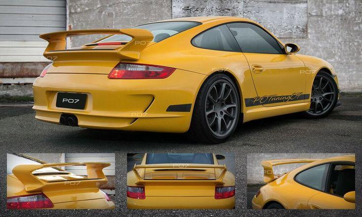 PORSCHE 911 997 Spoiler rear spoiler, tailgate, rear spoiler Roof GT GT3 GTR