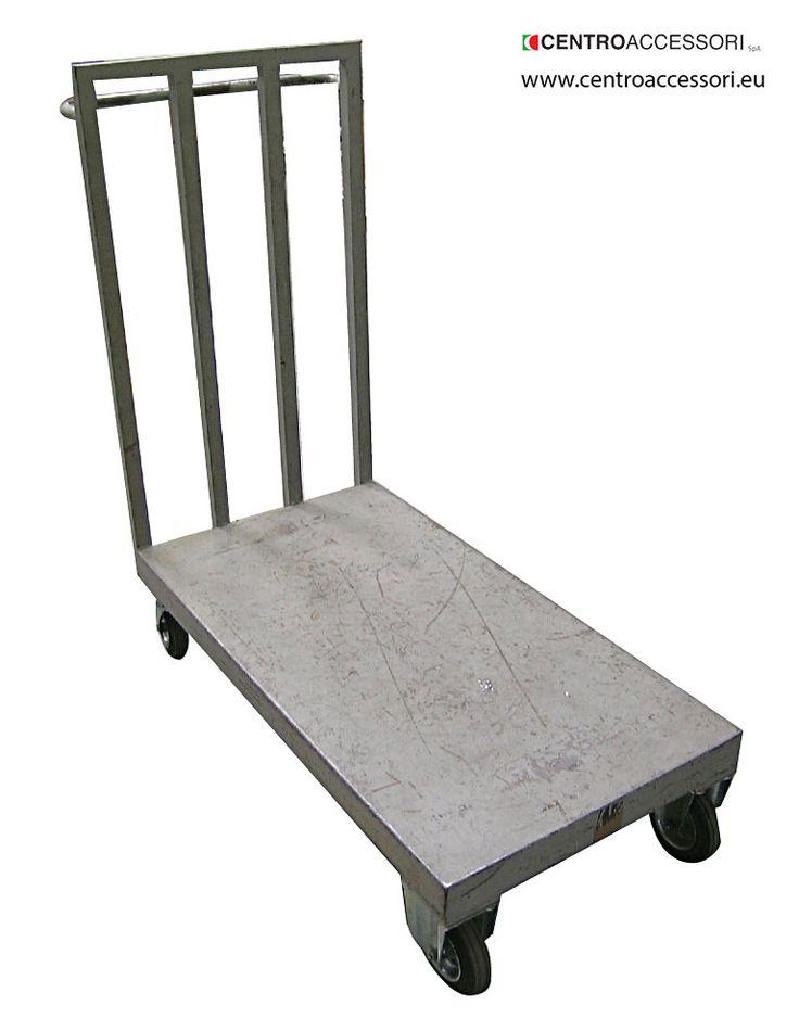 Carrello trasporto. Metal trolley #CentroAccessori