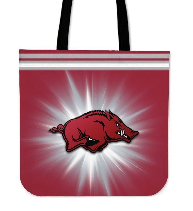 Arkansas Razorbacks Flashlight Tote Bags – Best Funny Store