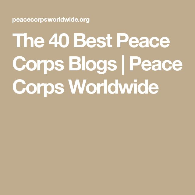 14 best peace corps images on Pinterest Peace corps, Volunteers - peace corps resume
