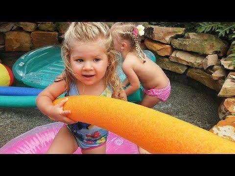 ✿ ПРИНЦЕССА Нападение Акулы Принцесса Диснея Принцессы Disney Princess Play surprise Toys Pool Игры    {{AutoHashTags}}