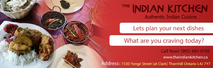 Lets Plan your next Dishes. http://www.theindiankitchen.ca