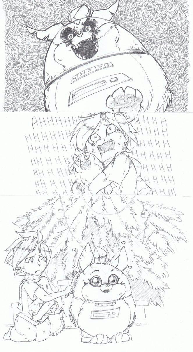 Mama scary!!! Tattletail