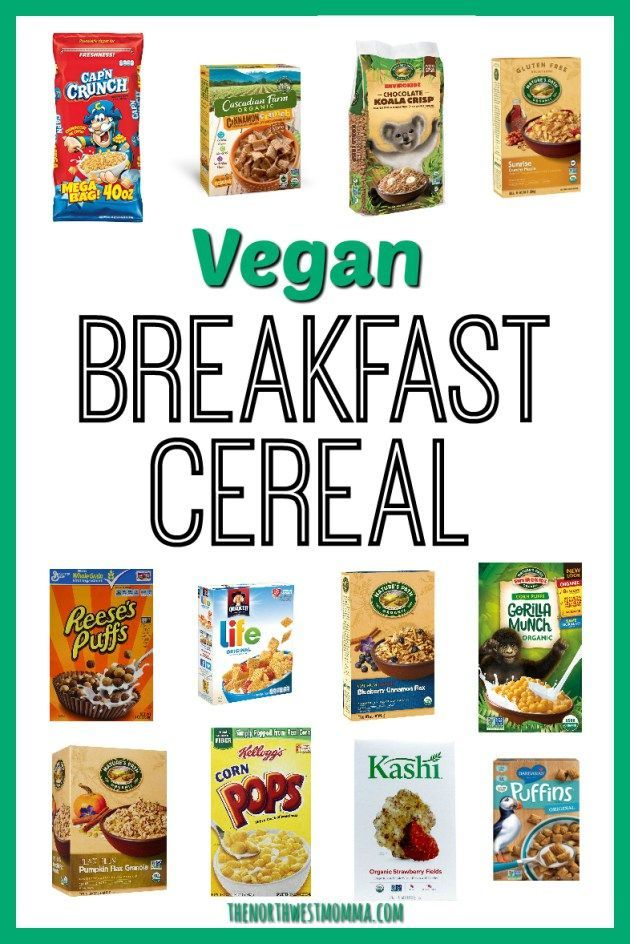 The Best Accidentally Vegan Cereals Of All Time Food Peta Kids Puffs Cereal Reese S Puffs Reeses Peanut Butter