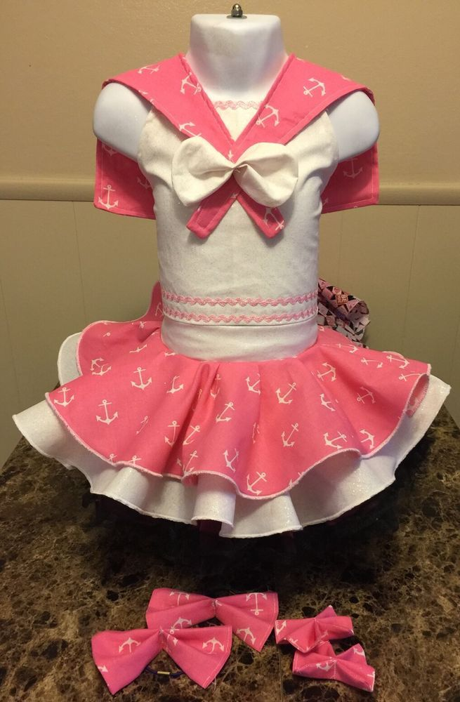 National Pageant Sailor Nautical Wear OOC Casual Wear  Size 18 Months-3t  | eBay