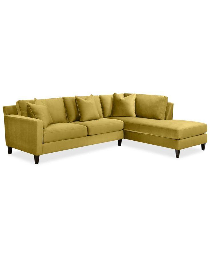 Broyhill Sofa Adeline Fabric Piece Sectional Sofa