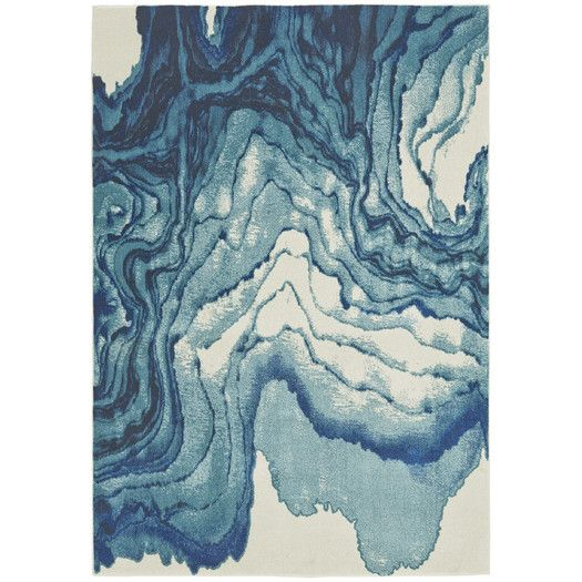 Shop AllModern for Blue Rugs for the best selection in modern design.  Free shipping on all orders over $49.
