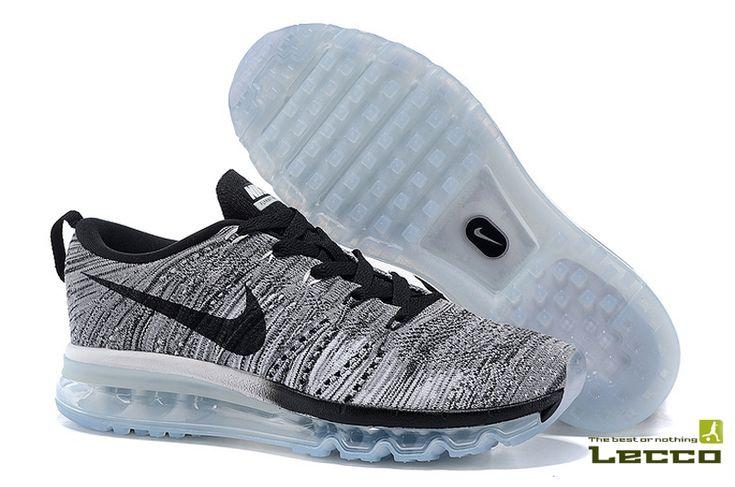 Мужские кроссовки Nike Air Max Flyknit Grey