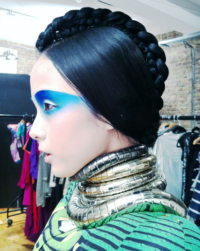 Behind the scenes at our spring COLOR VISION shoot. Read more on the Glossy! #Sephora