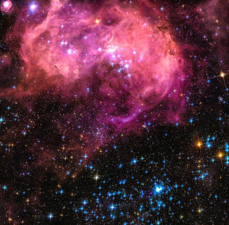 black and orange nebula - photo #40
