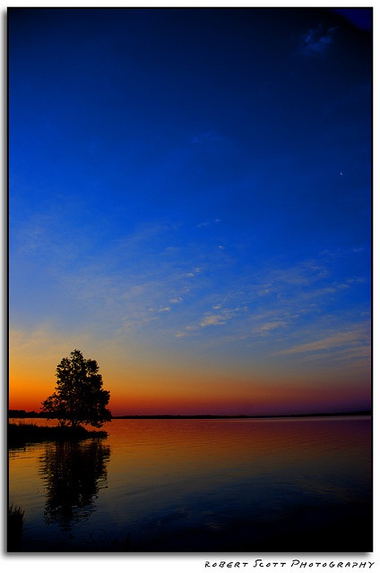 Colorful Sunrise over the Bay of Quinte - Belleveille, Ontario, Canada