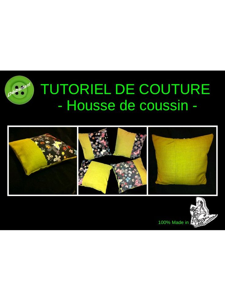 les 24 meilleures images propos de couture housse coussin sur pinterest patrons de couture. Black Bedroom Furniture Sets. Home Design Ideas