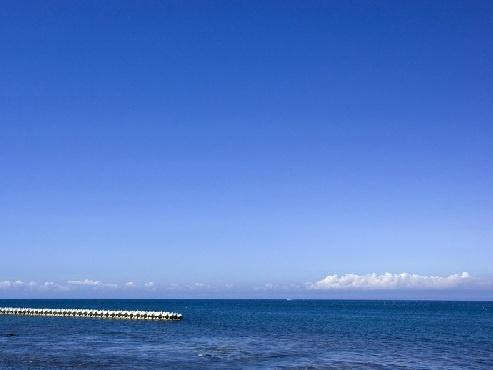 釣りも楽しめる出来澗海岸