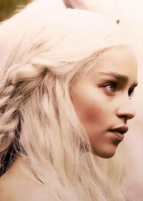 Emilia Clark in Game of Thrones.