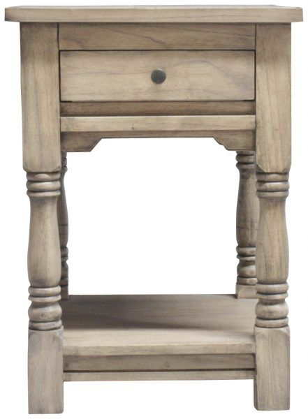 Block & Chisel bedside table with draw