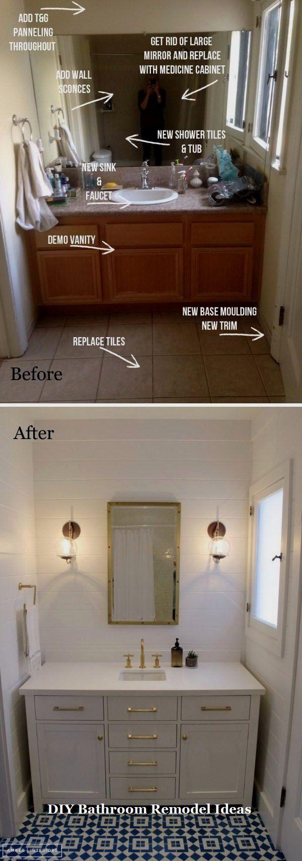 15 Incredible Ideas for Bathroom Makeover 4 – Bathroom Renovation Ideas DIY