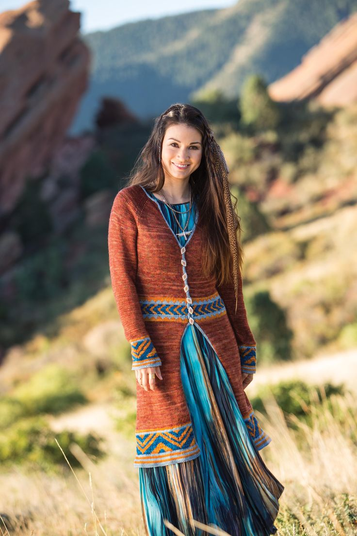 Grand Canyon Coat from Free Spirit Knits: 20 Knitted Garments and Accessories…