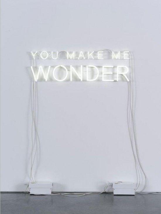 You make me wonder. (Present&Correct » Art & craft.)