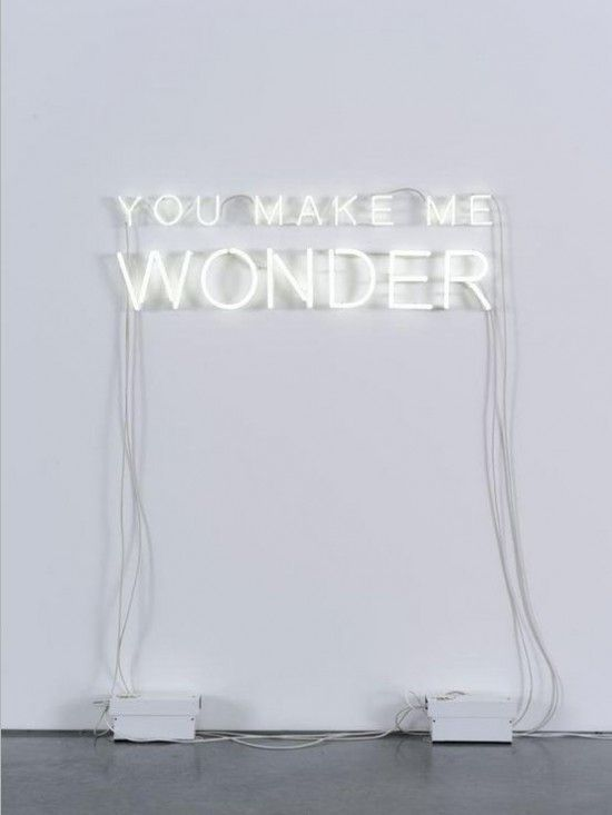 You make me wonder. (Present&Correct » Art & craft.)