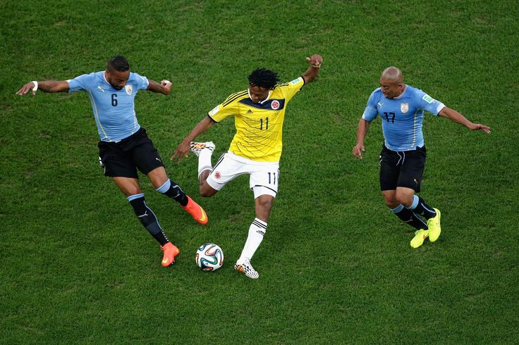 Fotos | Colombia vs Uruguay , Octavos de Final.