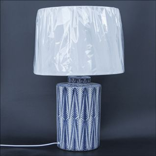 Ceramic Table Lamp with Shade