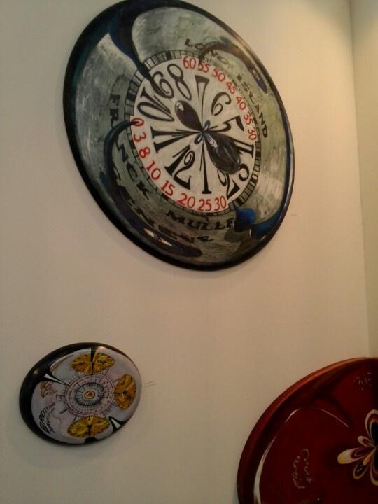 Clocks sculpture
