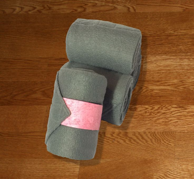 "Equine Polo Wraps/Gray Polo Wraps w/Pink Galaxy Velcro Strap by KLMequestrian Deck out your horse in style with these gray polos made with quality gray fleece embellished with pink galaxy fabric on the velcro strap. Made with industrial strength velcro to ensure a proper hold. Two sizes offered: Pony: 2 yards (6ft) long, 4"" wide Horse: 3 yards (9ft front, 11ft hind) long, 5"" wide. Four colors offered: Black, Navy, White, or Gray. ​Set of four."