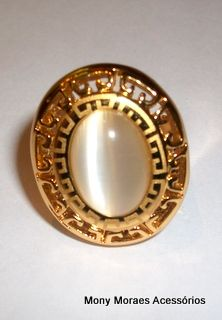 anel pedra semi-jóia