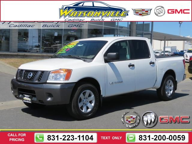 2008 Nissan Titan 2WD Crew Cab SWB LE 105k miles Call for Price 105117 miles 831-223-1104 Transmission: Automatic  #Nissan #Titan #used #cars #WatsonvilleCadillacBuickGMC #Watsonville #CA #tapcars