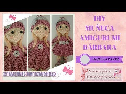 DIY MUÑECA BARBARA (PRIMERA PARTE) - YouTube