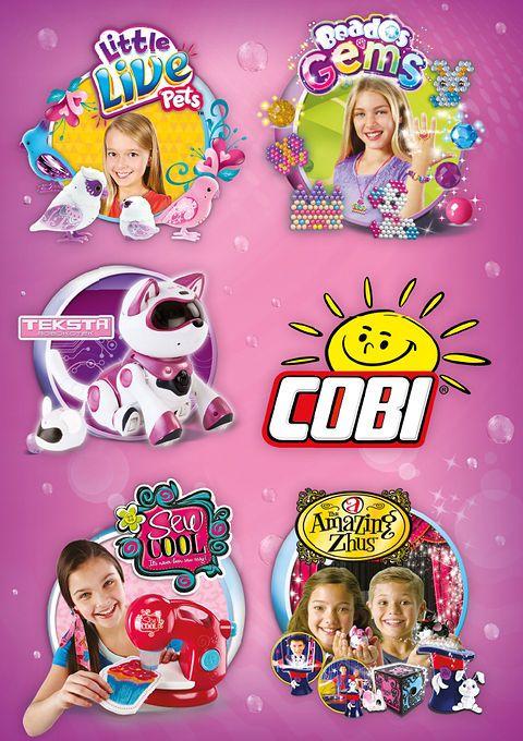 Katalog dla dziewczynek - Cobi, październik 2015