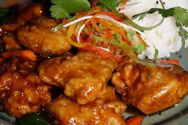 Chinese Bourbon Chicken Recipe with Soy Sauce and Ginger