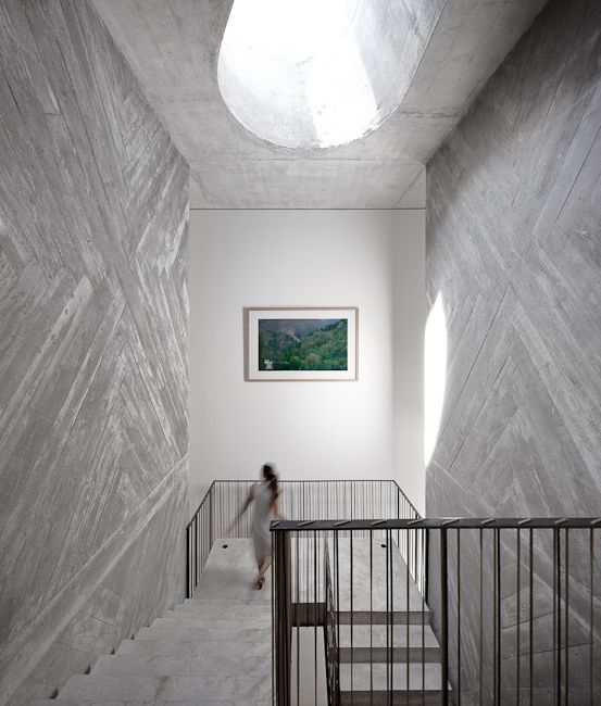 Casa do Conto (The House of Tales) in Porto, Portugal. Restored by Pedra Líquida (Liquid Stone) architectural office.