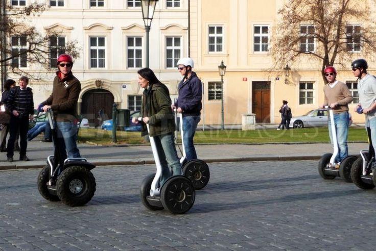 Best Tours in Prague riding a Segway. Visit:  http://www.segwayfun.eu/