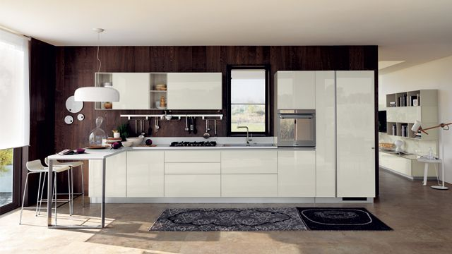 glass for the kitchen and glass also for the living room, which, Hause ideen