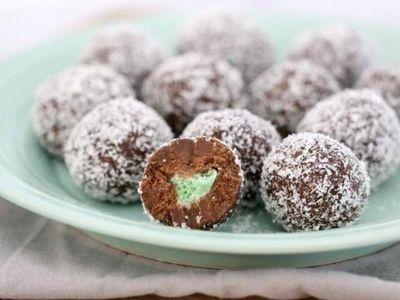 Surprise Choc-Mint Balls recipe