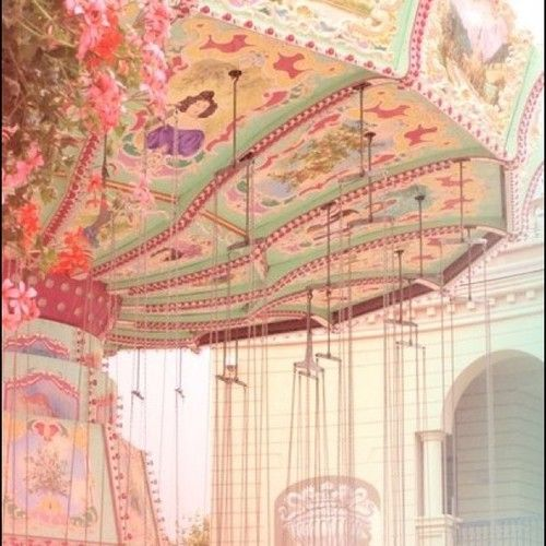 Vintage Carousel | antique, carnival ride, carousel, lovely - inspiring picture on Favim ...