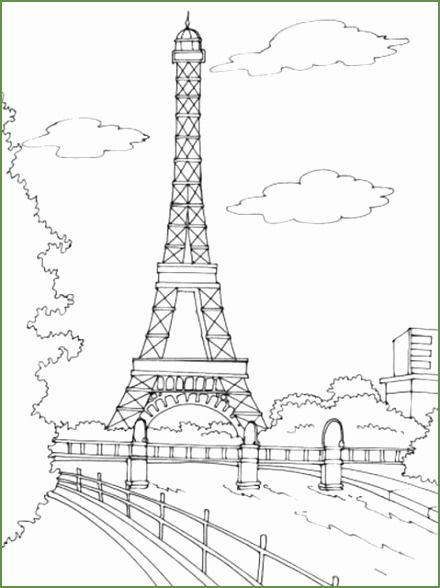 eiffel tower embroidery pattern for a throw