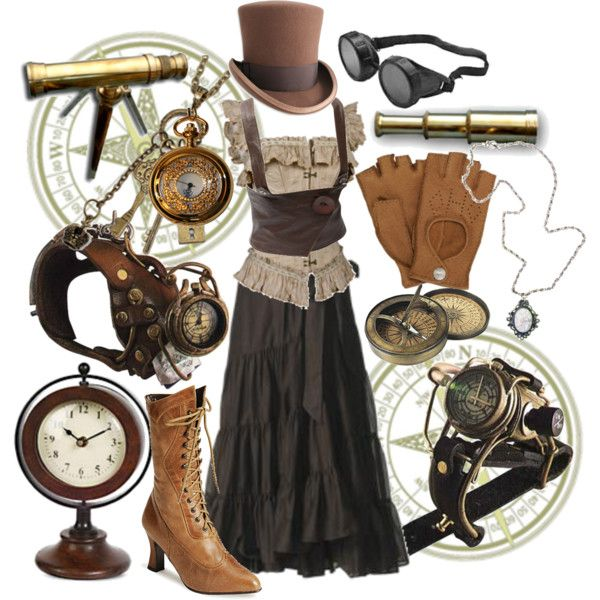 Steampunk Created by elizasometimes on Polyvore.