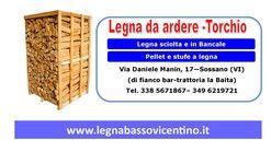 Nuova offerta: Occasione legna da ardere Vicenza