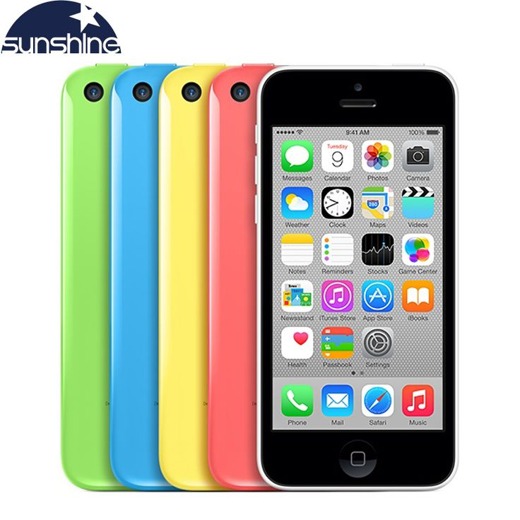 "Original Unlocked Apple iPhone 5c Mobile Phone 4"" Retina IPS Used Phone 8MP 1080P GPS IOS Multi-Language iPhone5c Cell Phones. Model : Apple iPhone 5c Screen Information : 4 Inch IPS Capacitive Screen,16M colors Resolution : 1136*640 pixels Band (Network) : 2G:GSM 850 / 900 / 1800 / 1900 - all versions CDMA 800 /, best offer"