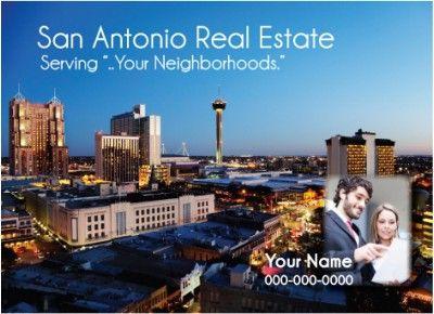 Texas - San Antonio Realtor Postcard  http://postcardspromo.com