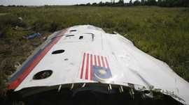 Wreckage from flight MH17