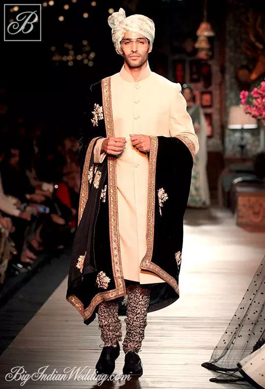 Sabyasachi's groom's collection