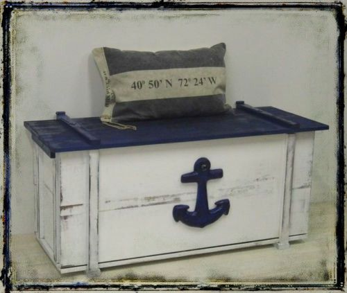 gro e maritime truhe vintage style shabby chic shabby shabby vintage and diy design. Black Bedroom Furniture Sets. Home Design Ideas