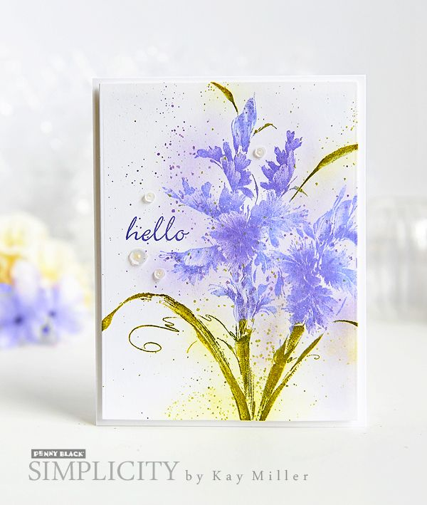 Clean and simple inspiration with Penny Black stamps and dies. Download complete supplies and instructions on our SIMPLICITY site.