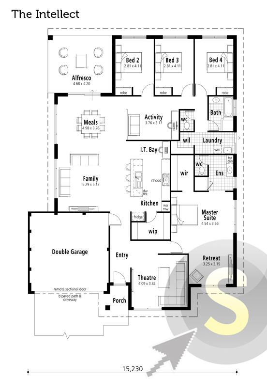 52 Best Images About Smart Home Floorplans On Pinterest