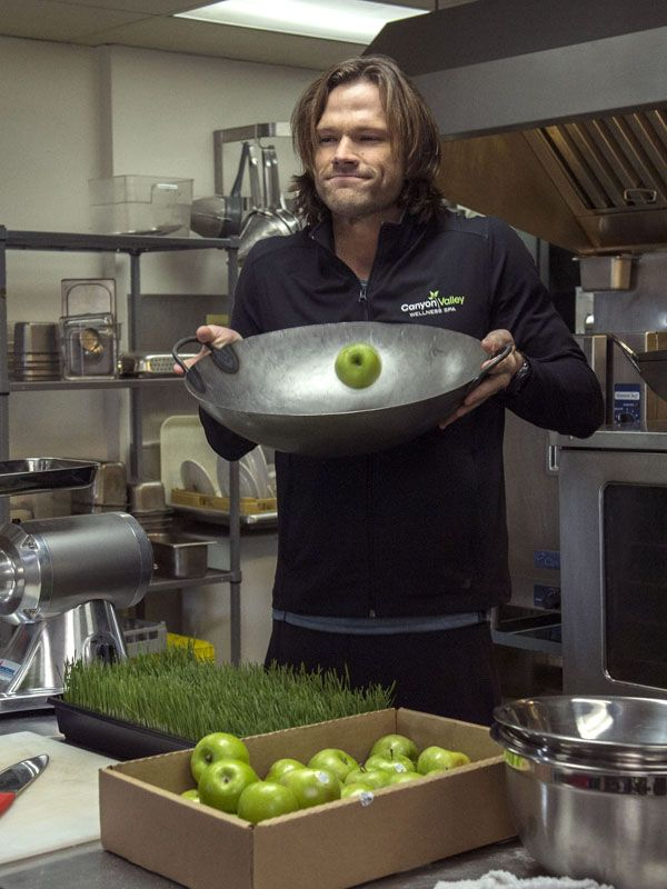 Jared Padalecki behind-the-scenes